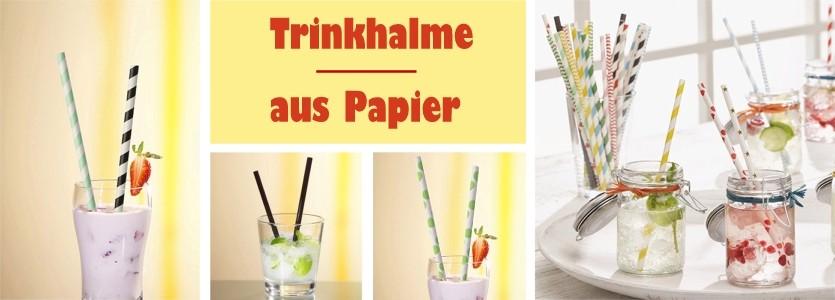002 Trinkhalme Papier
