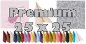 Premium Servietten 25 x 25 cm