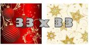 Weihnachts-Servietten 33 x 33 cm