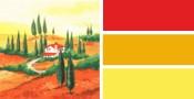Farbwelt Rot / Gelb