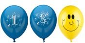 Luftballons mit Motiv