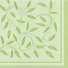 Servietten ROYAL Collection 1/4-Falz 40 cm x 40 cm olivgrün New Mediterran, Papstar (11654)
