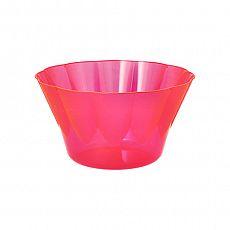 Eis- und Dessertschalen, PS rund 400 ml Ø 12 cm, 7 cm pink, Papstar (12171)