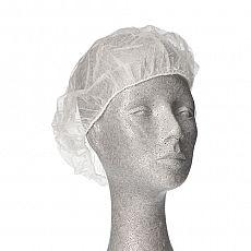 Barett-Hauben, Vlies Ø 28 cm weiss, Papstar (12206), 1000 Stück
