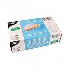 Handschuhe, Vinyl gepudert transparent Größe S, Papstar (12224), 1000 Stück