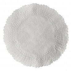 Plattenpapiere rund Ø 20,5 cm weiss, Papstar (12269), 5000 Stück