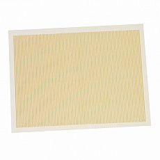Tischsets, Papier 30 cm x 40 cm creme Streifen, Papstar (12566), 1000 Stück