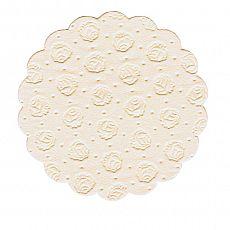 Tassen-Untersetzer rund Ø 9 cm creme 9-lagig, Papstar (14244), 400 Stück