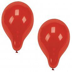 Luftballons Ø 25 cm rot, Papstar (18950), 500 Stück