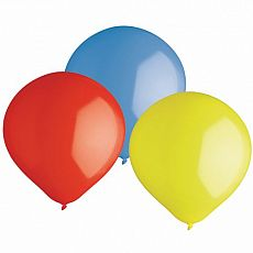 Luftballons, Maxi Ø 47 cm farbig sortiert, Papstar (81945), 24 Stück