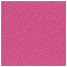 Papstar Servietten ROYAL Collection 1/4-Falz 40 cm x 40 cm fuchsia Casali, 84886, 50 Stück
