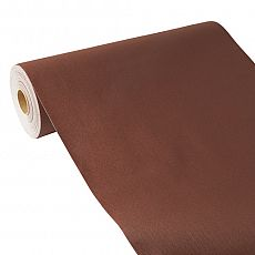 Tischläufer, stoffähnlich, PV-Tissue Mix ROYAL Collection 24 m x 40 cm braun, Papstar (84975), 4 Stück