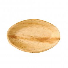 Schalen, Palmblatt pure oval 300 ml 20 cm x 12,5 cm x 3 cm, Papstar (85502)
