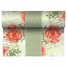 Tischläufer, stoffähnlich, PV-Tissue Mix ROYAL Collection 24 m x 40 cm nektarine Provencal, Papstar (86503)