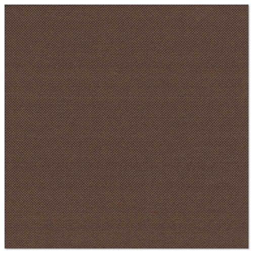 160 braune Servietten einfarbig ROYAL-Collection 40x40 stoffähnlich Hochzeit