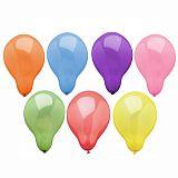 Luftballons rund Ø 19 cm farbig sortiert, Papstar (10049)