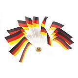 Flaggen, Papier 12 cm x 22 cm Deutschland, Papstar (10066)