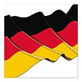 Servietten, 3-lagig 1/4-Falz 33 cm x 33 cm Germany, Papstar (10722), 300 Stück