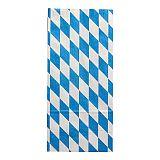 Hähnchenbeutel, Papier mit Alu-Einlage 28 cm x 13 cm x 8 cm Bayrisch blau 1/1, Papstar (11512)