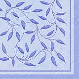 Servietten ROYAL Collection 1/4-Falz 40 cm x 40 cm dunkelblau New Mediterran, Papstar (11635)