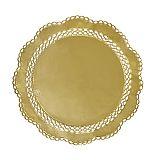 Papstar Tortenspitzen rund Ø 36 cm gold, 14356, 100 Stück