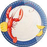 Teller, Pappe rund Ø 29 cm Lobster, Papstar (17008), 200 Stück
