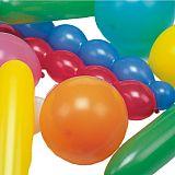 Luftballons farbig sortiert verschiedene Formen, extra groß, Papstar (18668)