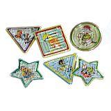 Geduldsspielzeuge sortiert, Papstar (18908), 60 Stück