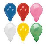 Luftballons rund Ø 28 cm farbig sortiert, Papstar (18957)