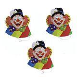 Hütchen Clowngesicht, Papstar (19326), 30 Stück