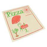 Pizzataschen, Pergamin 30 cm x 30 cm Cafeteria fettdicht, Papstar (81093), 300 Stück