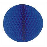 Wabenball Ø 60 cm blau schwer entflammbar, Papstar (81309), 5 Stück