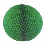 Wabenball Ø 60 cm grün schwer entflammbar, Papstar (81310), 5 Stück