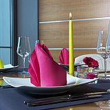 Papstar Servietten ROYAL Collection 1/4-Falz 40 cm x 40 cm fuchsia, 81663, 160 Stück