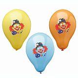 Luftballons Ø 29 cm farbig sortiert Clown, Papstar (81944), 72 Stück