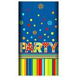 Tischdecke, Papier 120 cm x 180 cm New Party lackiert, Papstar (82511), 15 Stück