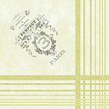 Servietten ROYAL Collection 1/4-Falz 40 cm x 40 cm Paris, Papstar (82640), 160 Stück