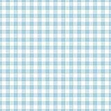Servietten, 3-lagig 1/4-Falz 33 cm x 33 cm hellblau Vichy Karo, Papstar (82760), 360 Stück