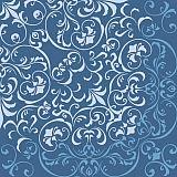 Papstar Servietten, 3-lagig 1/4-Falz 33 cm x 33 cm blau Delicated, 82774, 360 Stück