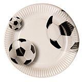Teller, Pappe rund Ø 23 cm Soccer, Papstar (82829), 200 Stück