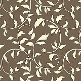 Servietten, 3-lagig 1/4-Falz 33 cm x 33 cm taupe Ornamental Leaves, Papstar (82919), 360 Stück