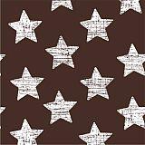 Servietten, 3-lagig 1/4-Falz 33 cm x 33 cm braun Vintage Stars, Papstar (82935), 360 Stück