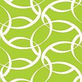 Papstar Servietten, 3-lagig 1/4-Falz 33 cm x 33 cm grün Curls, 84123, 200 Stück