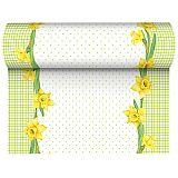 Tischläufer, stoffähnlich, Airlaid 24 m x 40 cm Spring Blossoms, Papstar (84474), 6 Stück