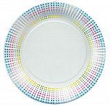 Teller, Pappe rund Ø 23 cm Equalizer Trend, Papstar (84717), 200 Stück