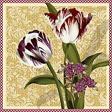 Servietten, 3-lagig 1/4-Falz 33 cm x 33 cm Valerie, Papstar (84744), 200 Stück