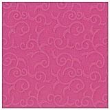 Papstar Servietten ROYAL Collection 1/4-Falz 40 cm x 40 cm fuchsia Casali, 84886