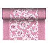 Tischläufer, stoffähnlich, PV-Tissue Mix ROYAL Collection 24 m x 40 cm fuchsia Adele, Papstar (84978), 4 Stück
