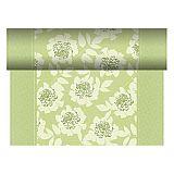 Tischläufer, stoffähnlich, PV-Tissue Mix ROYAL Collection 24 m x 40 cm grün Adele, Papstar (84980), 4 Stück