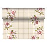 Tischläufer, stoffähnlich, PV-Tissue Mix ROYAL Collection 24 m x 40 cm bordeaux Berryrose, Papstar (84984)